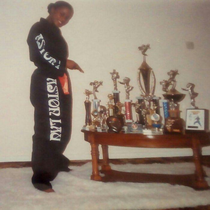Lorna-Georgina Thompson Brown, Aston Black Dragons from Newtown Community Centre, 1992